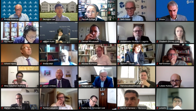 Participants at the CoC third virtual conference.